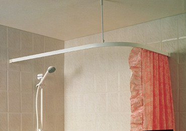 Angle Shower Curtain Track
