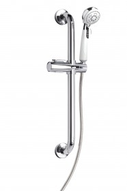 Assistive Showering Kit 600 Stainless Steel Grab Rail