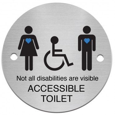 All Inclusive Toilet Sign