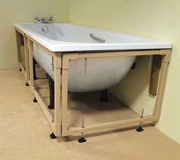 Easy Fit Frame - Bath Panel Support Frame - N&C Phlexicare
