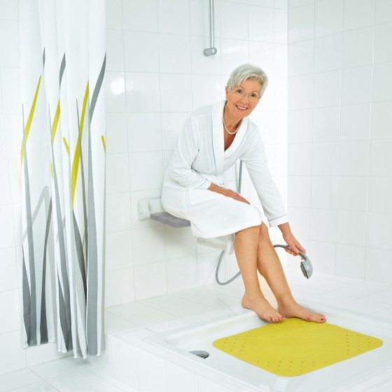 Comfort  Fold-Down Shower Seat Fashion