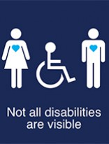Invisible Disabilities A4 Poster